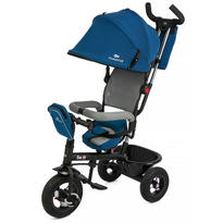 Kinderkraft Tricicleta 6 in 1 cu scaun rotativ Swift Blue
