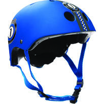 Casca protectie Junior Blu Race