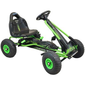 Baby Mix Kart cu pedale Speed Fever Green