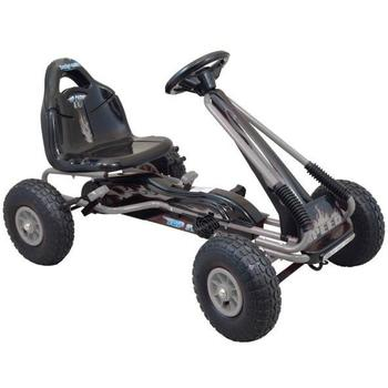 Baby Mix Kart cu pedale Speed Fever Grey