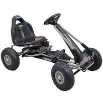 Kart cu pedale Speed Fever Grey