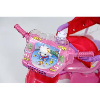 DHS Baby Tricicleta MerryRide Roz