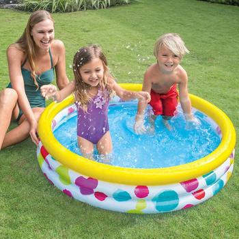 Intex Piscina 3 inele Wild Geometry