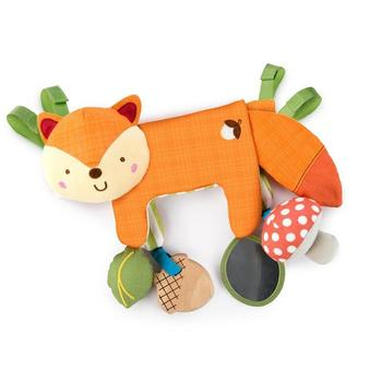 Bright Starts Jucarie multifunctionala 2 in 1 Foxy Forest Toy Bar
