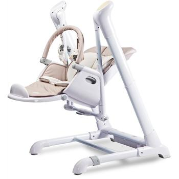 Caretero Leagan si scaun de masa 2in1 INDIGO Beige