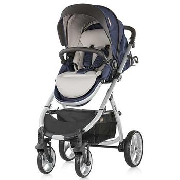Chipolino Carucior Up & Down 3 in 1 blue indigo