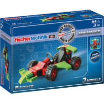 Set constructie ADVANCED Racers - 3 modele