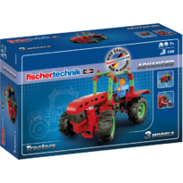 Set constructie ADVANCED Tractors - 3 modele