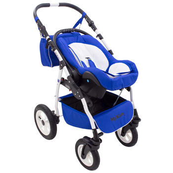 Carucior copii 3 in 1 MyKids Germany Blue Regal