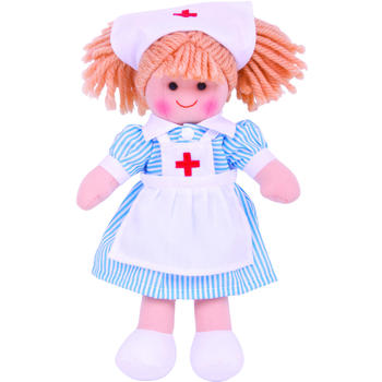Bigjigs Papusa Nurse Nancy