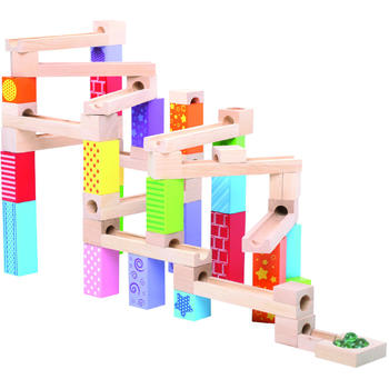Bigjigs Marble Run din lemn