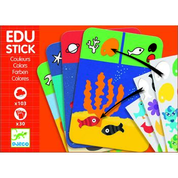 Djeco Edu-Stick Stickere educative Culori