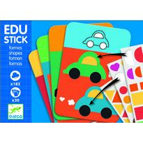 Djeco Edu-Stick Stickere educative cu forme geometrice