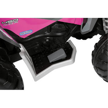 Peg Perego ATV Polaris Outlaw Pink Power