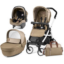 Peg Perego Carucior 3 in 1, Book Plus 51 Black and White Class