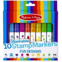 Melissa & Doug Set 10 stampile marker lavabile Fun