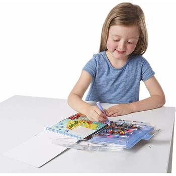Melissa & Doug Set creatie cu paiete Animale