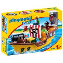 Playmobil 1.2.3. Barca Piratilor