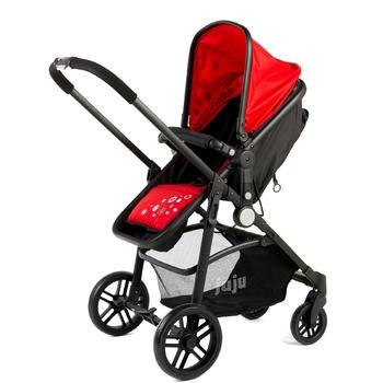 Juju Carucior 2 in 1 Happy In The Park Rosu-Negru