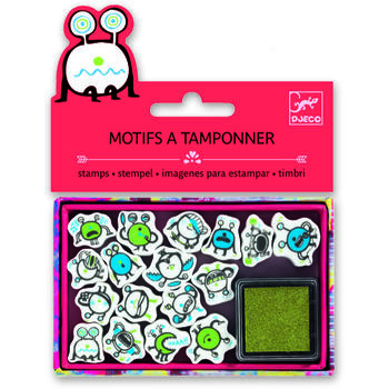 Set stampile Djeco emoticons