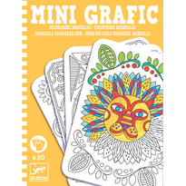 Mini grafic Djeco Mandale