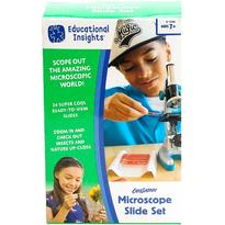 Educational Insights Set diapozitive pentru microscop