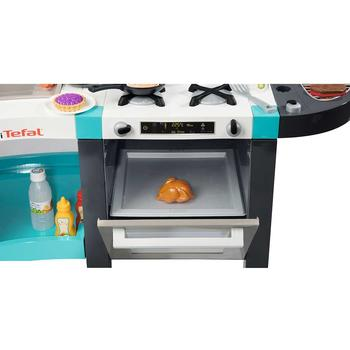 Smoby Bucatarie electronica Tefal French Touch Bubble cu oala magica si accesorii
