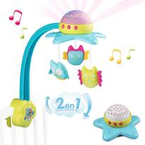 Smoby Carusel muzical Cotoons Star 2 in 1