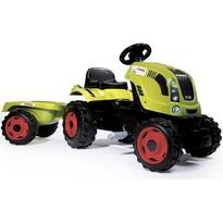 Smoby Tractor cu pedale si remorca Claas Farmer XL