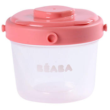 Beaba Set 6 recipiente hrana 2 x 60 ml, 4 x 120 ml roz