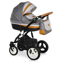 Krausman Carucior 3 in 1 Zen Dark Grey-Brown