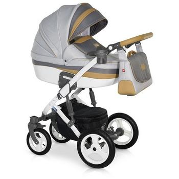 Krausman Carucior 3 in 1 Zen Grey-Brown