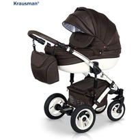 Krausman Carucior 3 in 1 Sendo Brown