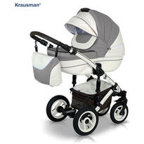 Krausman Carucior 3 in 1 Sendo White-Light Brown