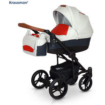 Krausman Carucior 3 in 1 Tripp Red