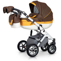 Krausman Carucior 3 in 1 Contempo Brown