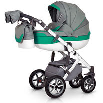 Krausman Carucior 3 in 1 Contempo Green