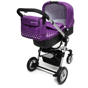 Kinderkraft Carucior 3 in 1 Kraft Purple
