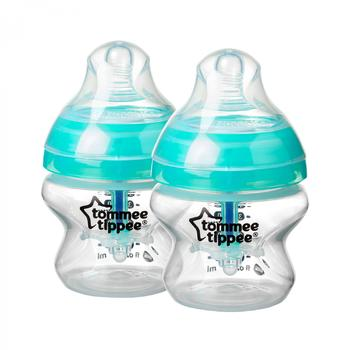 Biberon Tommee Tippee Advanced Anti-colic cu Sistem de Ventilatie 150 ml, 2 buc