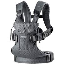 BabyBjorn Marsupiu anatomic One Air - Anthracite, 3D Mesh