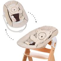 Hauck Sezlong Alpha Bouncer 2 in 1 Hearts Beige