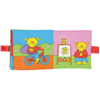 GALT Large Soft Book: Carticica moale Teddy's Day