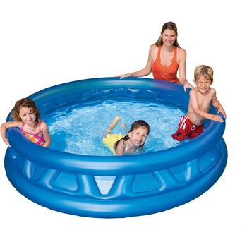 Intex Piscina gonflabila Soft Side 188 x 46 cm