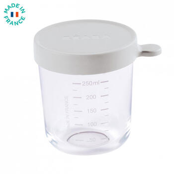 Beaba Recipient ermetic sticla 250 ml - gri