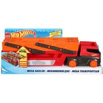 Hot Wheels Camion by Mattel Mega transportator cu trailer