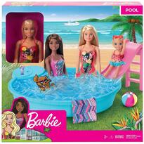 Barbie Set by Mattel Fashion and Beauty, piscina si papusa