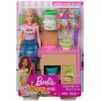Barbie Set by Mattel Cooking and Baking, Pregateste noodles cu papusa si accesorii