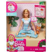 Barbie Set by Mattel Wellness and Fitness papusa mediteaza