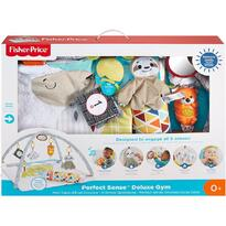 Fisher-Price Covoras de joaca by Mattel Newborn, Perfect sense deluxe Gym