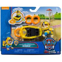 Spin Master Set Figurine Deluxe Paw Patrol Rubble